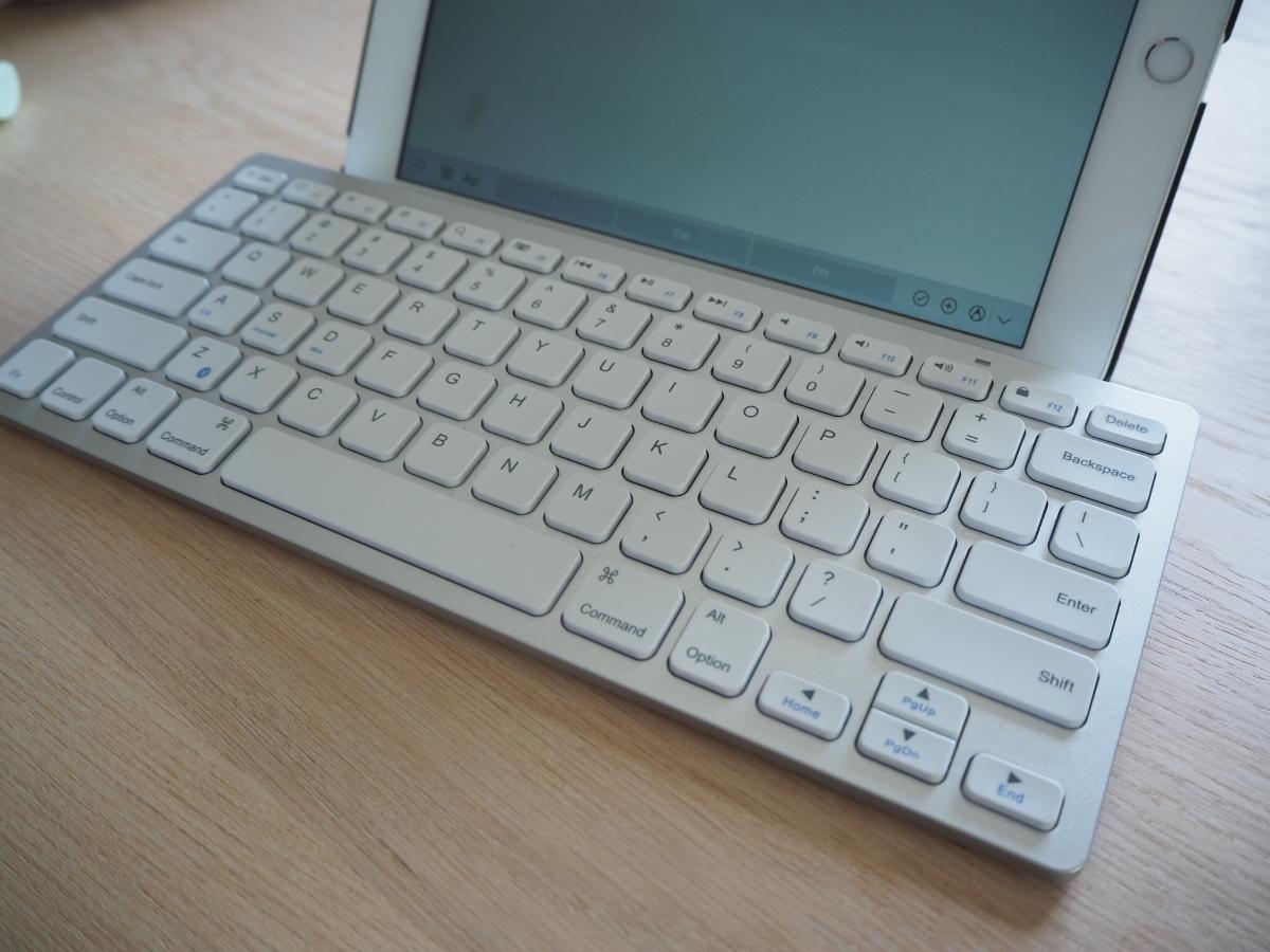 【レビュー】Ankerウルトラスリム Bluetoothキーボードは入門キーボードとしてGOOD